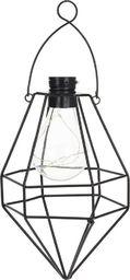 Home & Styling Lampa solarna ogrodowa LED wisząca ekologiczna uniwersalny