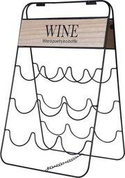 Excellent Housewares Stojak WINO regał na butelki wina - 9 butelek uniwersalny