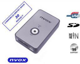 Nvox Zmieniarka cyfrowa emulator MP3 USB SD FIAT 8PIN NV1080A FIAT 8PIN