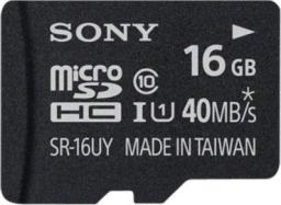 Karta Sony MicroSDHC 16 GB Class 10 UHS-I/U1  (SR16UYA)