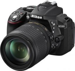 Lustrzanka Nikon D5300 + 18-105mm VR Czarny (VBA370K004)