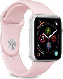 Puro PURO ICON Apple Watch Band - Elastyczny pasek sportowy do Apple Watch 42 / 44 mm (S/M & M/L) (Piaskowy róż)