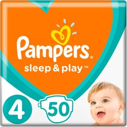 Pampers Pieluchy Sleep&Play 4 Vp Maxi 50 szt.