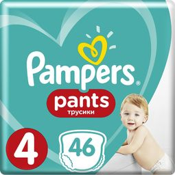 Pampers Pieluchomajtki Active Baby Dry Value Pack Plus/Economy Pack S 46 szt.