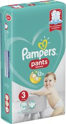 Pampers Pieluchomajtki Active Baby Dry Value Pack Plus/Economy Pack 3 54 szt.