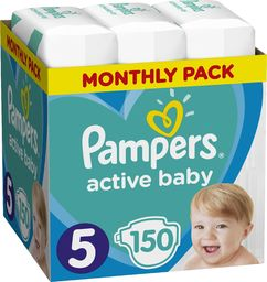 Pampers Pieluchy Monthly Box 5 150 szt.