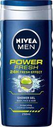 Nivea Żel pod prysznic Men Power Fresh 250ml