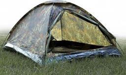 Namiot turystyczny Mil-Tec Iglo Standard 2 Flecktarn