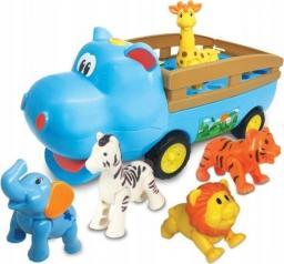 Dumel Hipciowóz ze zwierzakami niebieski