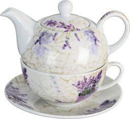 Orion Filiżanka z czajniczkiem do herbaty Lawenda