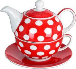 Orion Filiżanka z czajniczkiem do herbaty Grochy