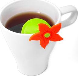 Excellent Housewares Zaparzacz sitko do zaparzania herbaty ziół KWIATEK