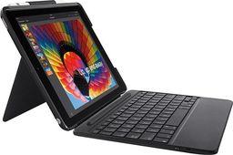Logitech Etui z klawiaturą Slim Combo do iPad 5 i 6 Gen. czarne (920-009047)