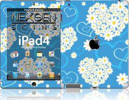 Nexgen Skins Nexgen Skins - Zestaw Skórek Na Obudowę Z Efektem 3d Ipad 2/3/4 (hearts And Daisies 3d)