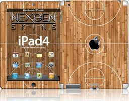 Nexgen Skins Nexgen Skins - Zestaw Skórek Na Obudowę Z Efektem 3d Ipad 2/3/4 (hardwood Classic 3d)