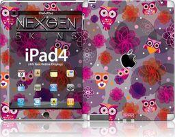 Nexgen Skins Nexgen Skins - Zestaw Skórek Na Obudowę Z Efektem 3d Ipad 2/3/4 (owlettes 3d)