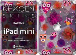 Nexgen Skins Nexgen Skins - Zestaw Skórek Na Obudowę Z Efektem 3d Ipad Mini (owlettes 3d)
