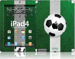 Nexgen Skins Nexgen Skins - Zestaw Skórek Na Obudowę Z Efektem 3d Ipad 2/3/4 (soccer Field 3d)