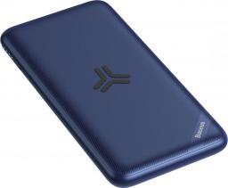 Powerbank Baseus S10 10000mah & Wireless Charger Blue
