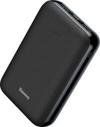 Powerbank Baseus Baseus Mini Ja Power Bank 10000 Mah Usb / Usb-c / Micro Usb 2.1a Czarny (ppjan-a01)