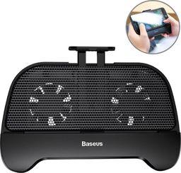Powerbank Baseus Baseus Mobile Games Handle Chłodzący Uchwyt Pad Gamepad Joystick Do Telefonu Do Gier Powerbank 2000mah Czarny (acsr-01)