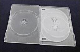Esperanza Pudełko Esperanza Na 4 Dvd 14mm-z Tray'ą 3123 Bezbarwne Matowe