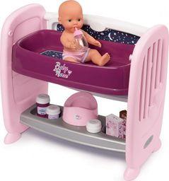 Smoby Baby Nurse zestaw lalka i łóżeczko 2w1 (220353)