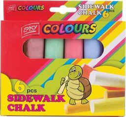 Easy Kreda chodnikowa 6 kolorów EASY