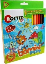 Noster Kredki świecowe Bonnini 12 kolorów NOSTER