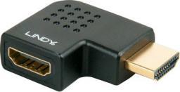 Adapter AV Lindy 41358 Przejściówka HDMI kątowa lewoskrętna