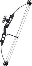 """EZ Archery Łuk bloczkowy EZ Archery (Poe Lang) Bowmax 30-50 Lbs RH 23-31"""" Black uniwersalny"""