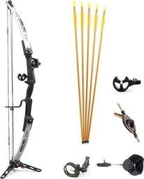EZ Archery Łuk bloczkowy EZ archery (Poe Lang) Pro-Metal LH z zestawem uniwersalny