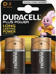 Duracell Bateria Plus Power D / R20 2szt.