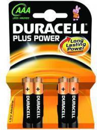Duracell PLUS POWER AAA 4 SZT (MN2400B4)