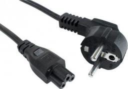 Kabel zasilający Gembird Kabel zasilający do notebooka koniczynka C5 3M (PC-186-ML12-3M)