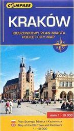 Plan misata kieszonkowy - Kaków 1: 15 000