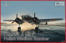 Ibg Model plastikowy PZL. 37 A bis I polski średni bombowiec