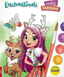 Enchantimals. Maluj farbami