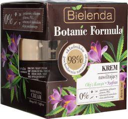 Bielenda Krem do twarzy Botanic Formula Olej z Konopi + Szafran nawilżający 50ml