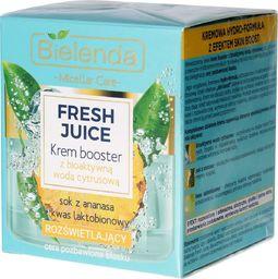 Bielenda Krem do twarzy Fresh Juice Booster Ananas rozświetlający 50ml