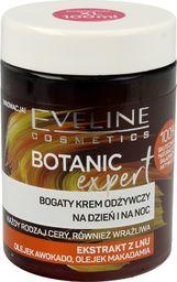 Eveline Krem do twarzy Botanic Expert Ekstrakt z Lnu odżywczy 100ml