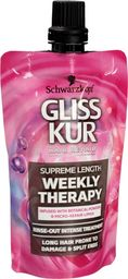 Schwarzkopf Gliss Kur Supreme Length Odżywka do włosów długich podatnych na zniszczenia mini 50ml