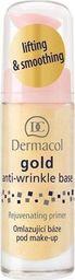 Dermacol DERMACOL_Gold Anti-Wrinkle Base odmładzająca baza pod makijaż 20ml