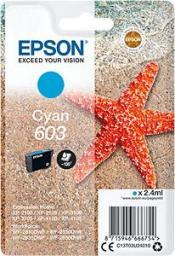 Epson Tusz 603 Cyan (C13T03U24010)