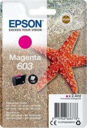 Epson Tusz 603 Magenta (C13T03U34010)