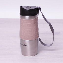 Kamille Kubek termiczny KM-2052 380ml różowy