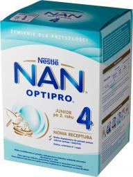 Nestle Mleko modyfikowane NAN Optipro 4 dla dzieci po 2. roku 800g karton