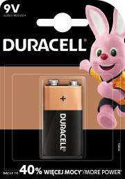 Duracell Bateria Basic 9V Block 1szt.