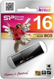 Pendrive Silicon Power Blaze B05 16 GB USB 3.0 (SP016GBUF3B05V1K)