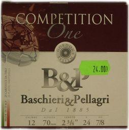 B&P Amunicja Śrutowa B&P Competition one 7,5 TRAP 24g uniwersalny